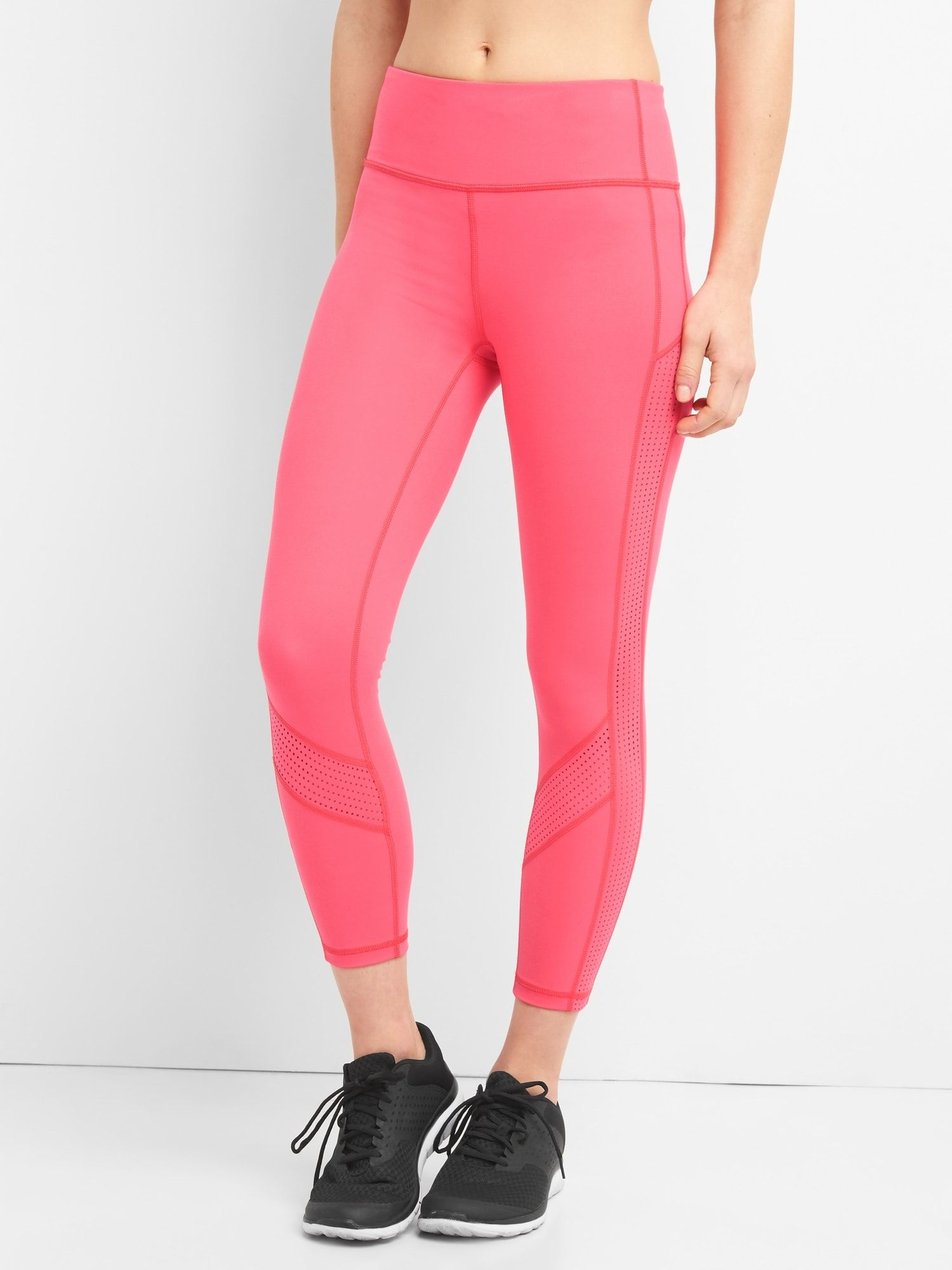ac47347e3857e GFast Blackout Perforated 7/8 Leggings | Sweat | Blackout panels ...