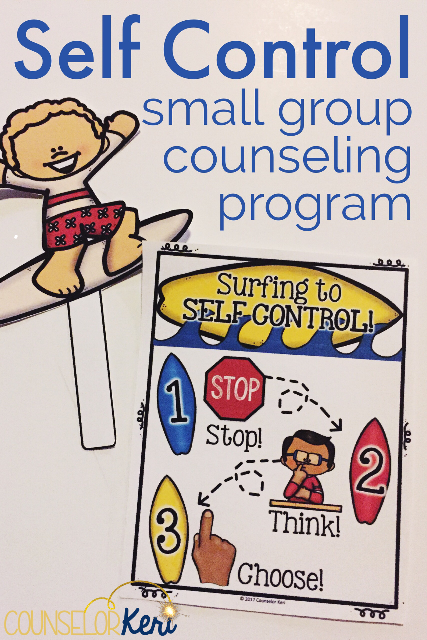 Self Control Group Counseling Self Control Activities