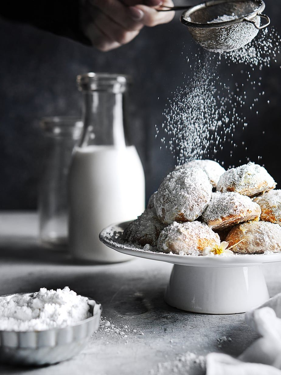 Gluten Free Mexican Wedding Cookies (Cocoons) Recipe