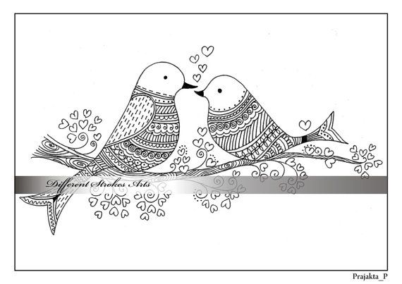 valentine coloring pages printable for by DifferentStrokesArts | ✐Ö ...
