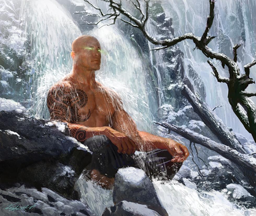 Monk Monastic Traditions Dnd 5e Sun Soul - 0425