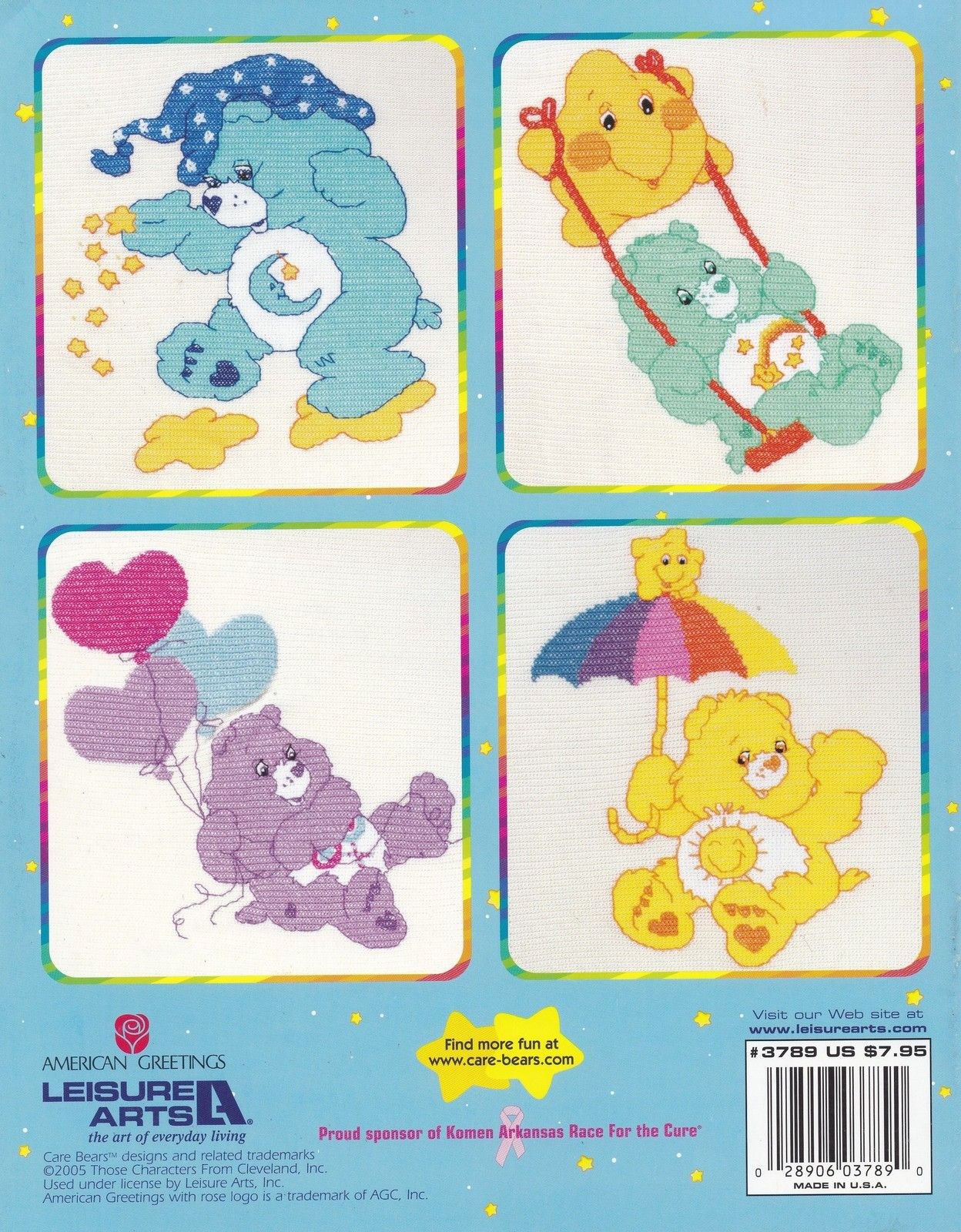 Care bears afghans leisure arts crochet pattern book 3789 share care bears afghans leisure arts crochet pattern book 3789 share wish cheer bear dolls bankloansurffo Choice Image