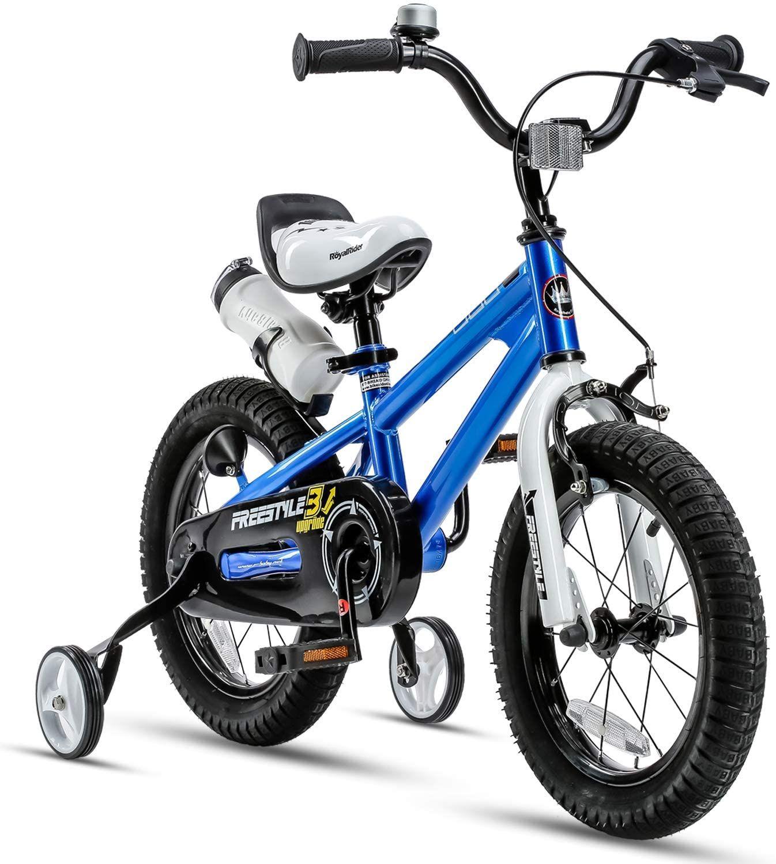 Royalbaby Kids Bike Boys Girls Freestyle Bicycle 12 14 16 Inch With Training Wheels In 2020 Kids Bicycle Kids Bike Royal Baby Bike