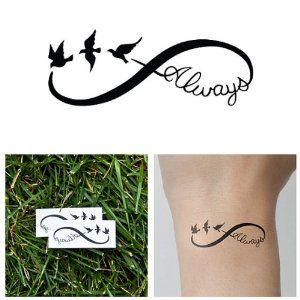 infinity birds tattoos - Google Search | Body Art ...