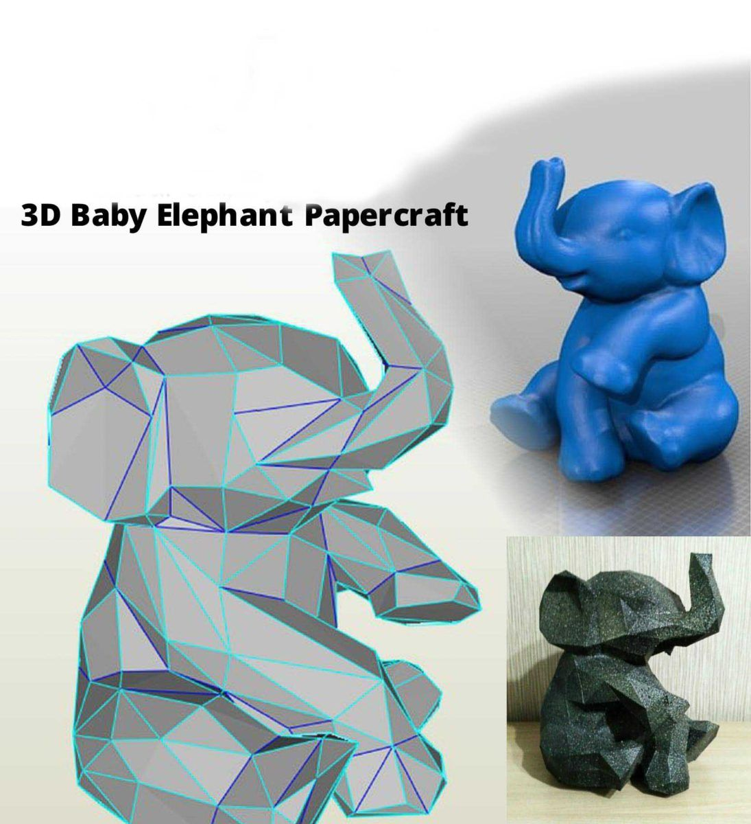 Papercraft Pdf Templates To Make Paper Sculptures 1