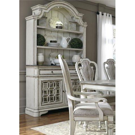 Distressed White Antique China Cabinet Magnolia Manor Furniture Furniture Makeover Antique China Cabinets