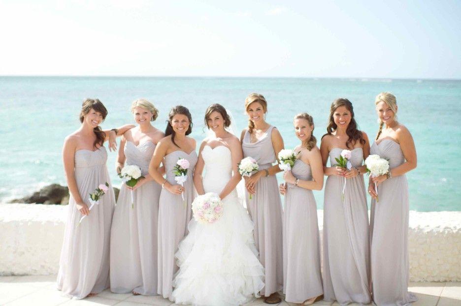 Bridesmaid Dresses For Beach Wedding In Por Options Blissful