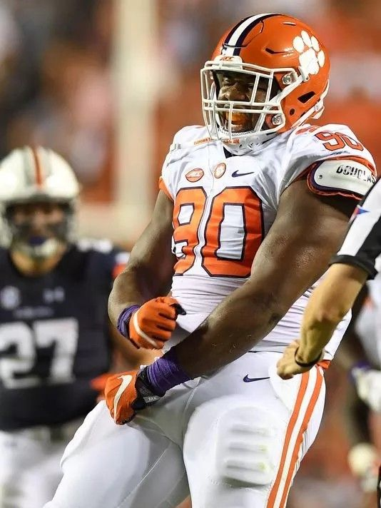 Dexter Lawrence Clemson Football Clemson Alumni Clemson University Football