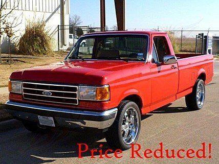 1990 Ford F150 2wd Regular Cab For Sale 100831455 Ford Trucks Ford F150 Classic Trucks