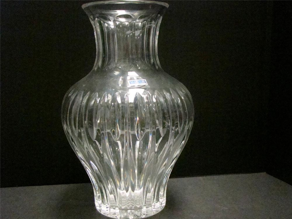 Marquis Waterford Crystal Vase Sheridan 125 Tall Poland Free