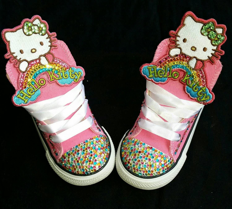 custom hello kitty converse