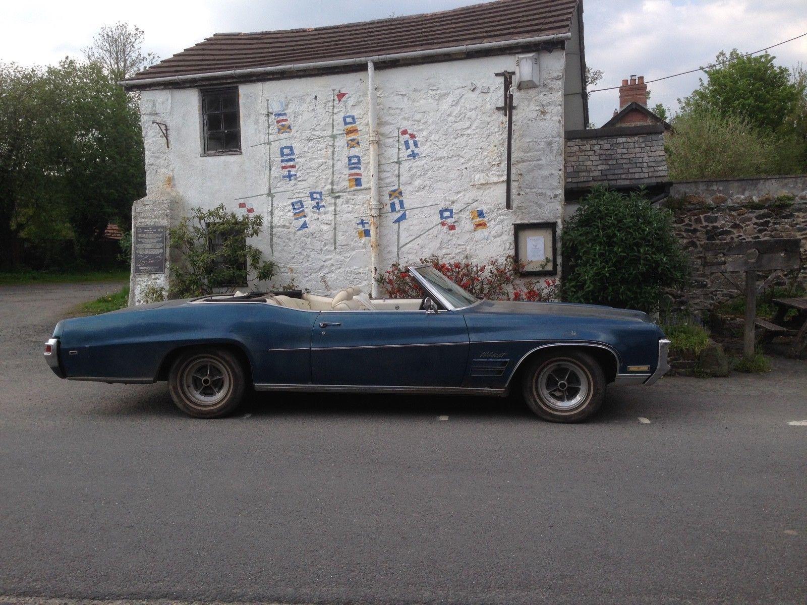 1970 Buick Wildcat convertible mot uk regd on the road