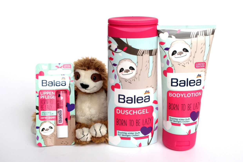 Balea Faultier Born To Be Lazy Limited Edition Makeupinflight 5 Balea Produkte Faultier Duschgel