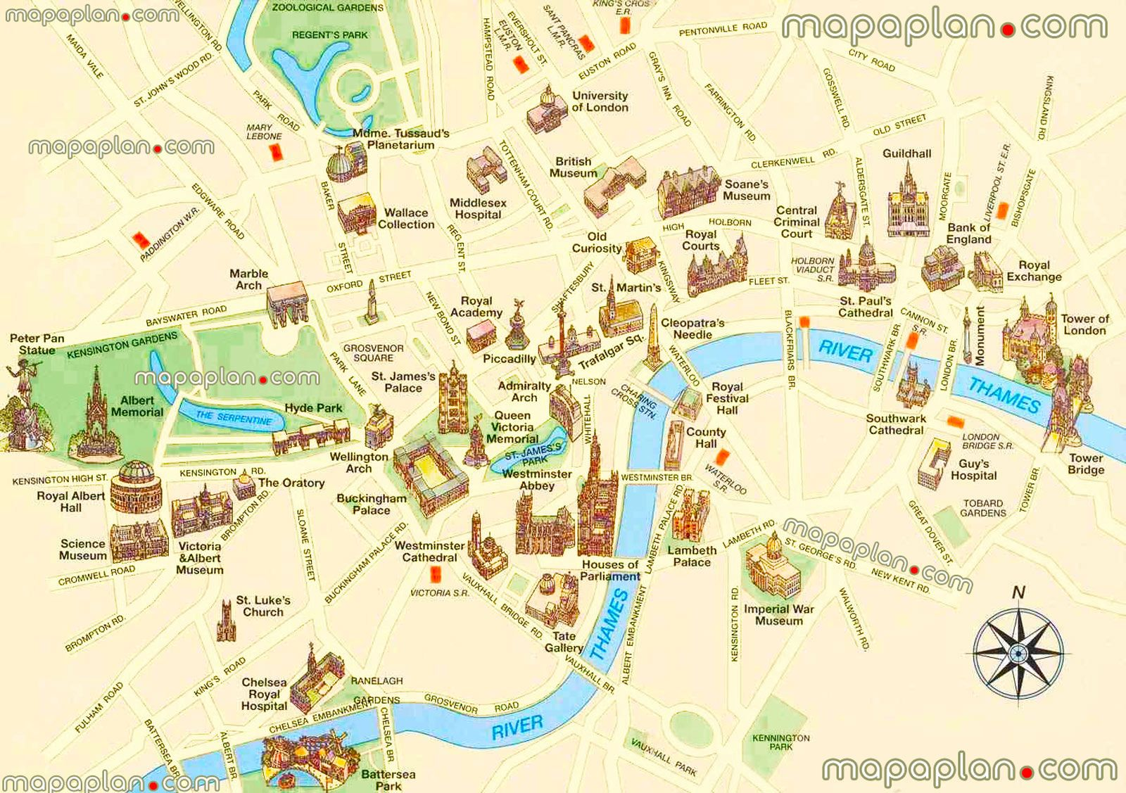 london locations other major landmarks most popular sites famous old destinations best free museums must do spotss london top tourist attractions map