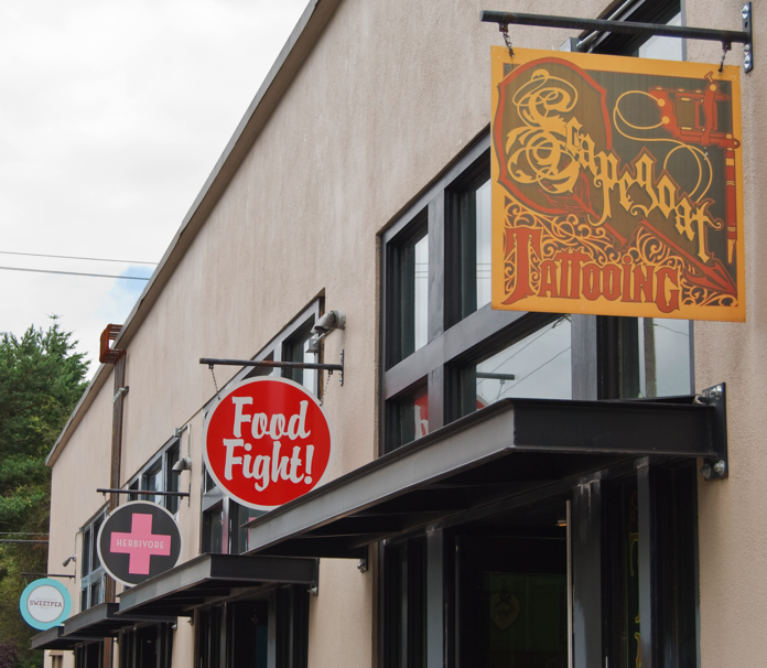 Pin By Erika Perez On All About Portland Food Fight Strip Mall West Coast Canada