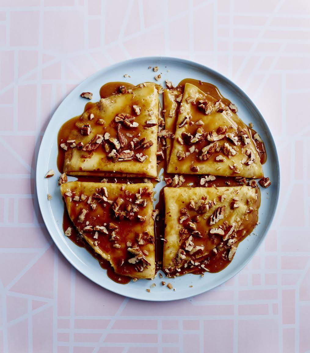 how to make dulce de leche pancakes