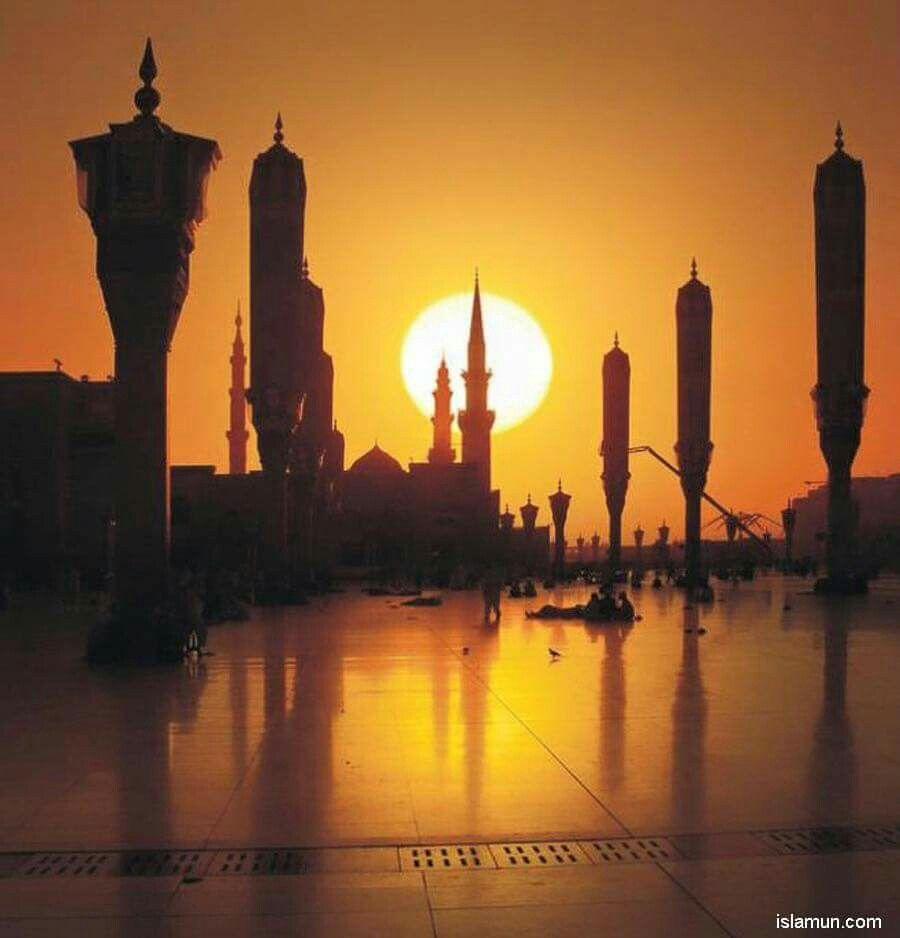 Pin By Rovshana Q On معالم المدينة المنورة Mosque Beautiful Sights Masjid