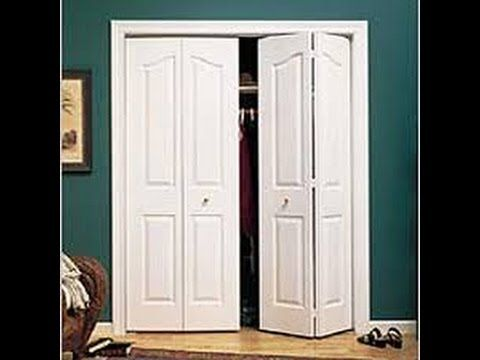 Repairing Adjusting A Folding Closet Door Youtube Odds Ends