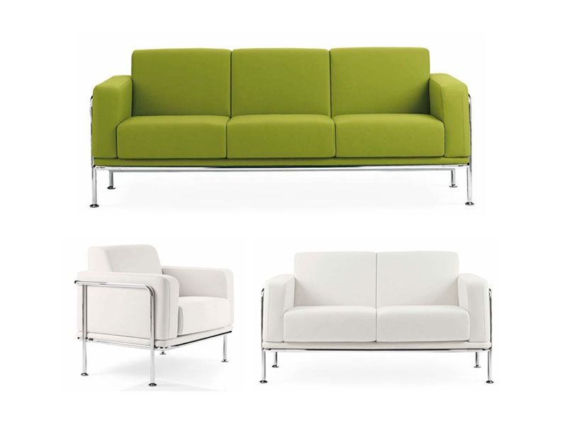 Exceptionnel Office Loveseat | ... Modern Loveseat, Sofas For Waiting Area, Elegant  Sofas, Linear Sofa
