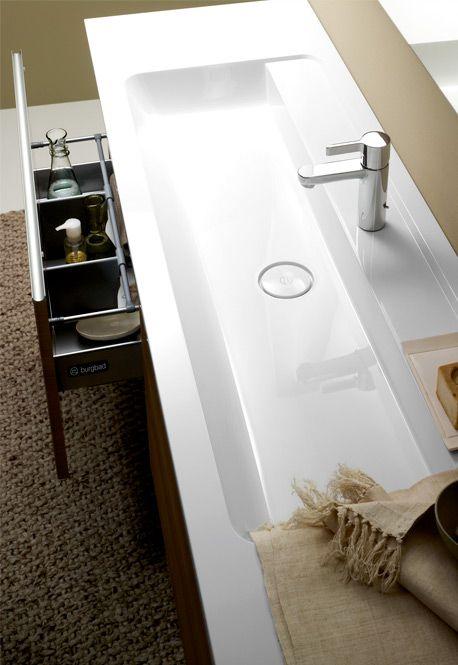 Produktdesign burgbad bel. Waschtisch Mineralguss. Washbasin mineral ...