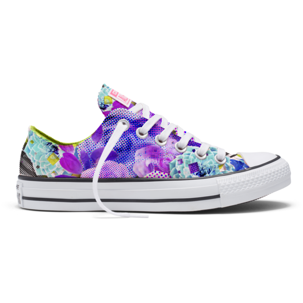 Converse Women s Chuck Taylor All Star Digital Floral Print Ox sale  49.  Shoe.me 892a01aa0