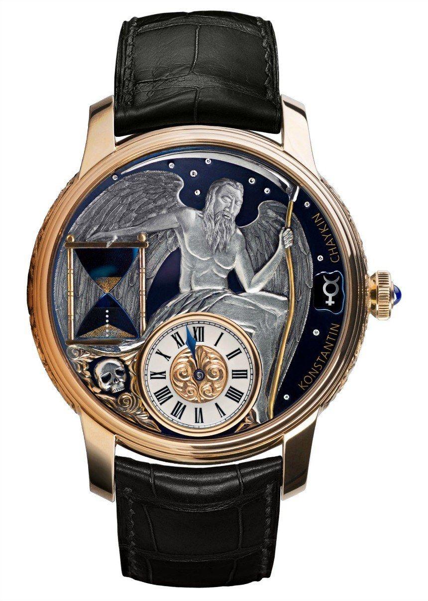 Konstanin Chaykin Carpe Diem Watch: Finally, An Hourglass For The Wrist watch releases