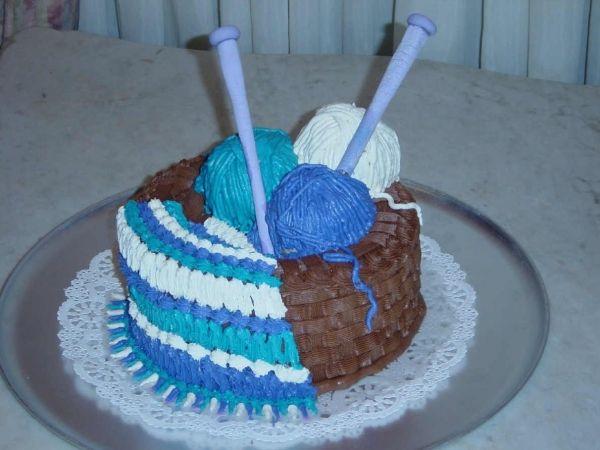 Knitting Cake — Birthday Cakes | Cake, Knitting cake, Cake ...