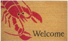 Lobster Welcome Mat