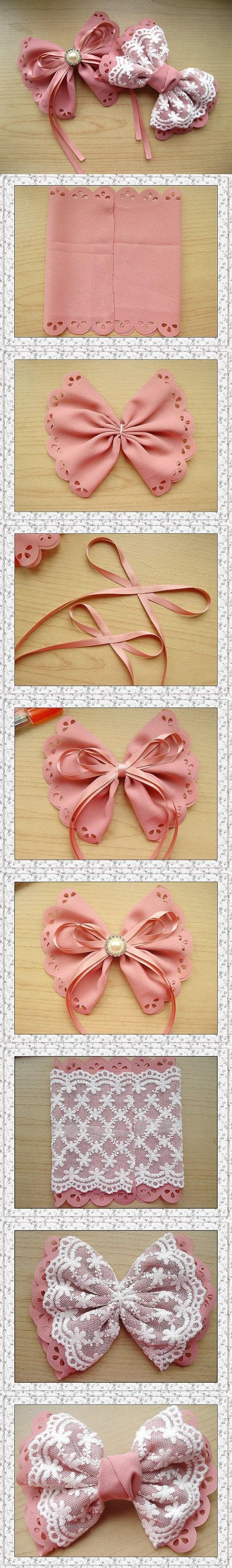 26 manieren voor strikjes en strikken te maken. Kijk maar bij de bron van de foto (rechtsboven naast foto) voor meer ideeën.