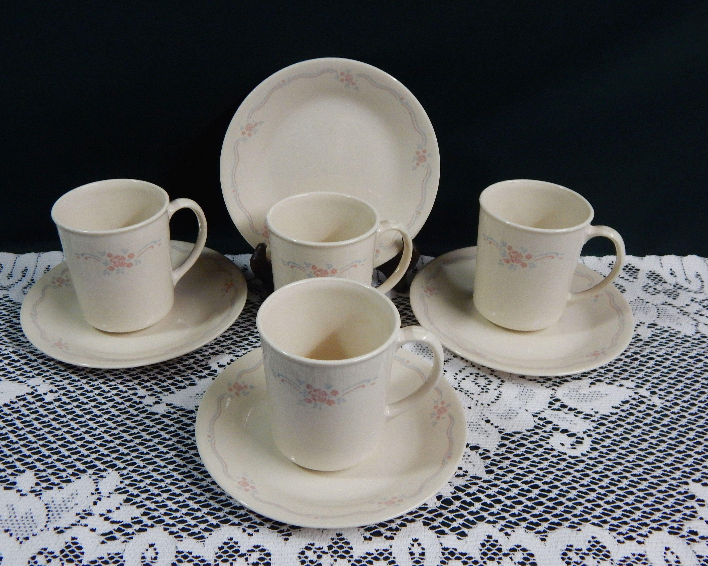 corelle english breakfast mugs bread