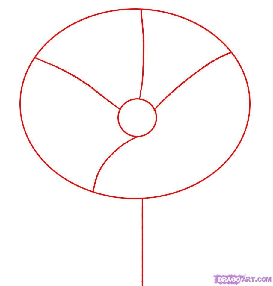 How to draw poppy step 1 diy extras pinterest draw drawing how to draw poppy step 1 mightylinksfo