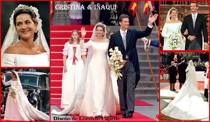 boda de cristina de borbón y grecia, infanta de españa & iñaki