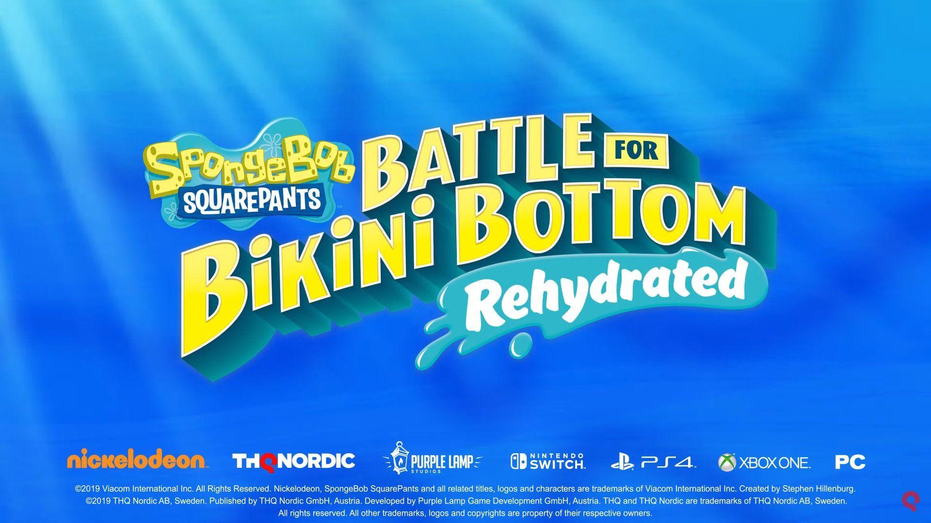 Spongebob Squarepants Battle For Bikini Bottom Remaster Announced Spongebob Squarepants Squarepants Spongebob