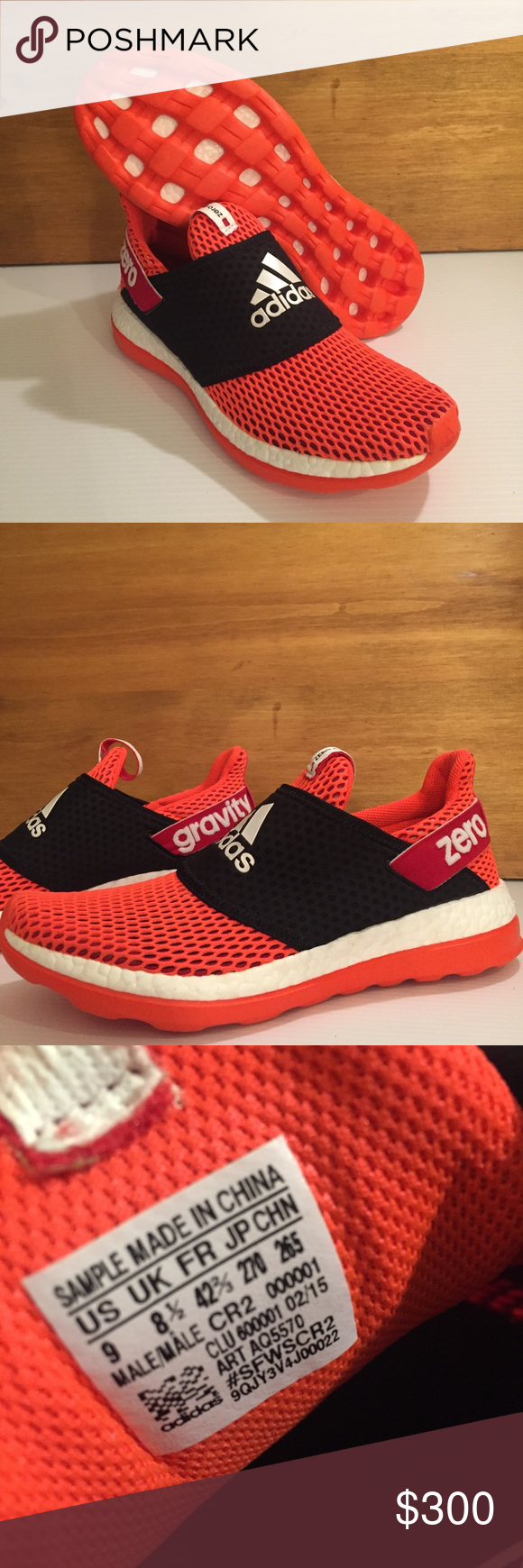 Adidas Boost ZG Trainer Slip - ons muestras