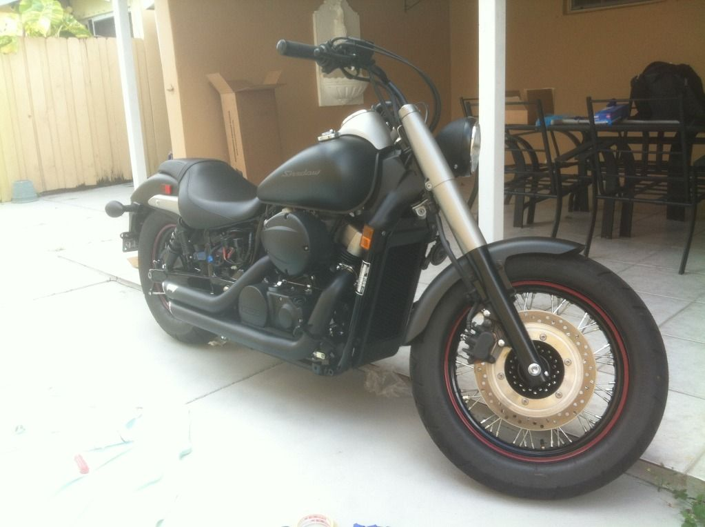 Photo of Honda Shadow – Black Matte