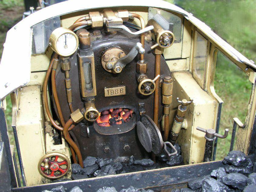 Engine Shops Near Me >> Live Steam Engine: Cab Controls | Steam locomotive, Ride on train, Live steam locomotive