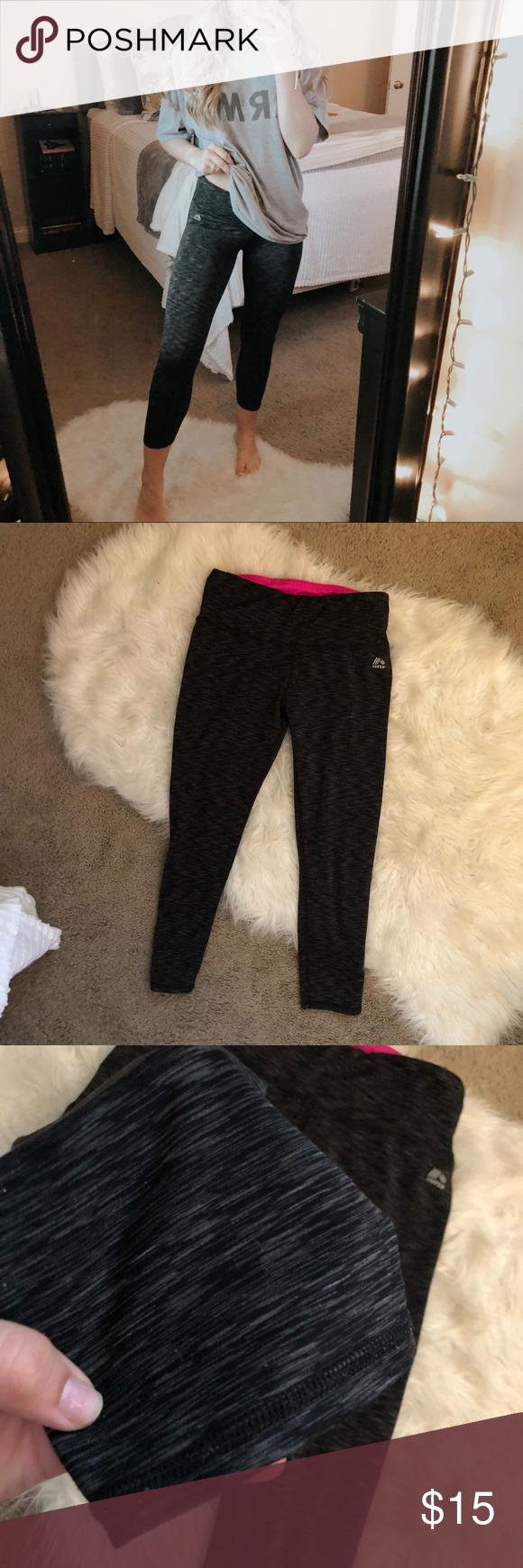 RBX Black Speckled Crop Leggings | Leggings are not pants ...