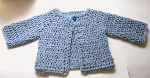 FREE Crochet Patterns Baby Cardigans | Pinterest | Babykleidung ...