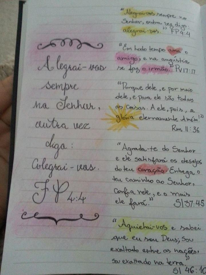 Versiculos Que Marcaram Minha Vida Cadernos De Oracao Revista