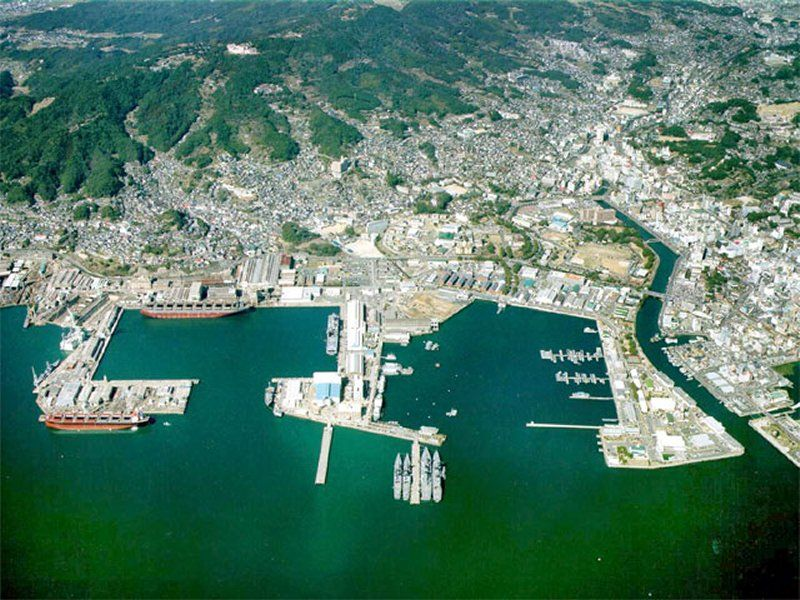 Sasebo Japan  Some sailors have a girl in every port  I had