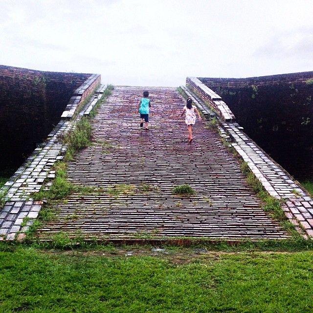 Imagem do Internauta, via instagram: Alexandre Barreto @ale_barreto Em: Fortaleza de São José do Macapá