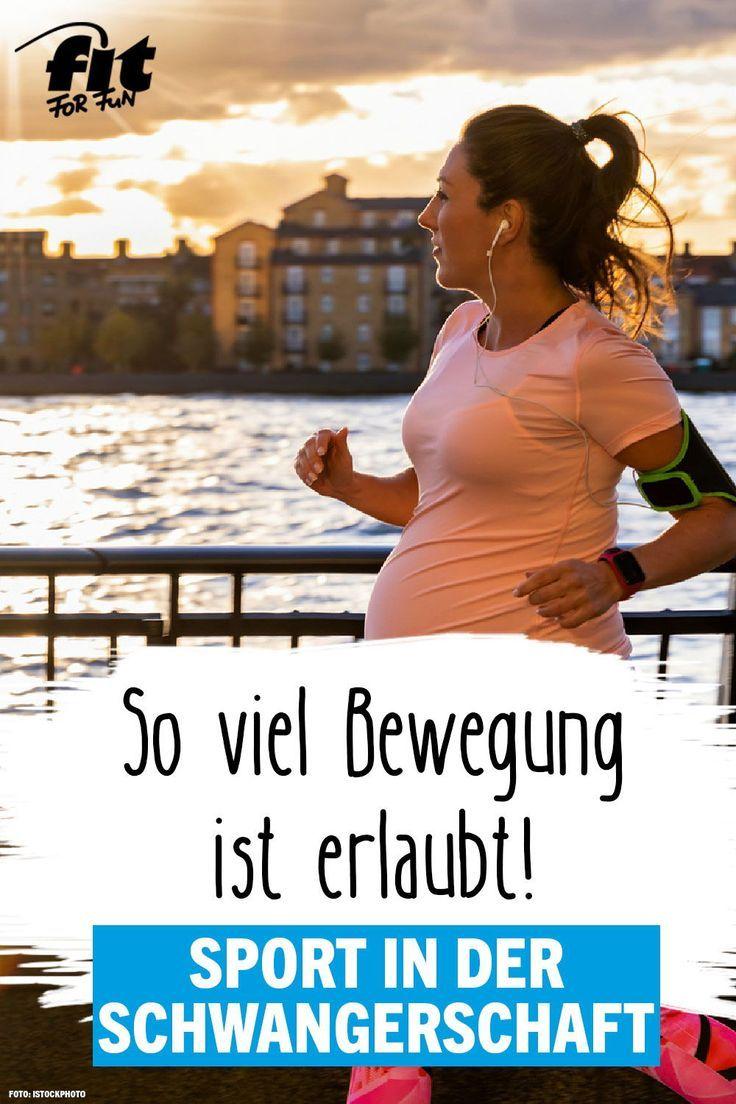 Sport during pregnancy? Yes, but right! – FIT FOR FUN  – Sport in der Schwangerschaft