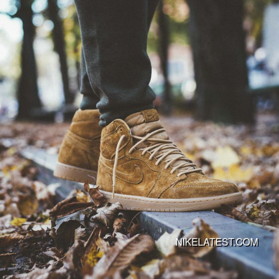 Air Jordan 1 Retro Harvest Golden Harvest Gum Yellow 555088 710