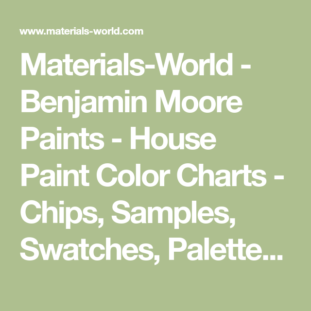 materials world benjamin moore paints house paint on benjamin moore exterior color chart id=69796