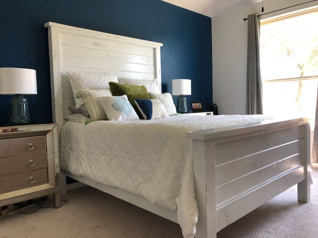 Ana White Morgan S Farmhouse Bed Diy Projects