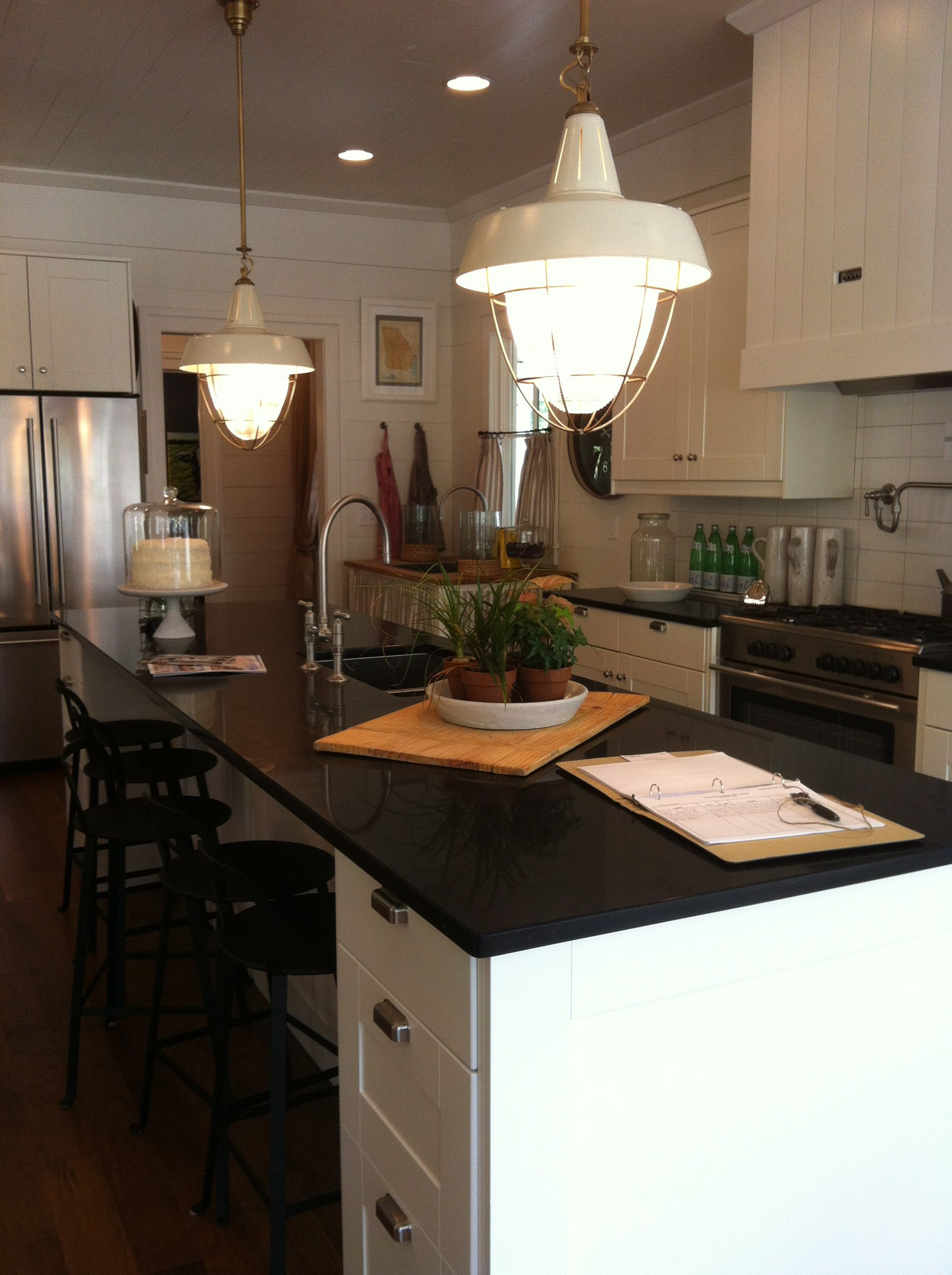 Kitchen island all are from IKEA. Countertops