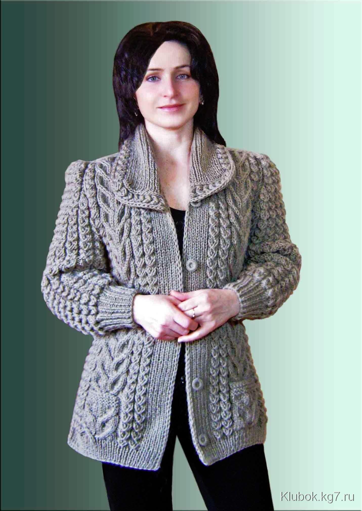 Наталья лок вязание спицами с описанием