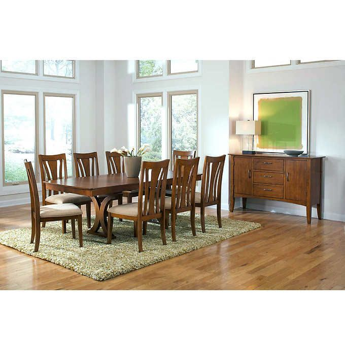 chartres 10-piece dining set | home remodeling | pinterest
