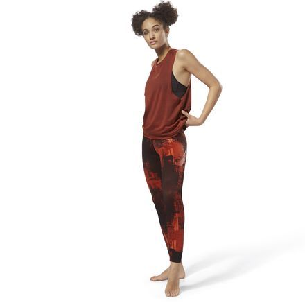 Damen Reebok Lux Bold Combat Tight Leggings