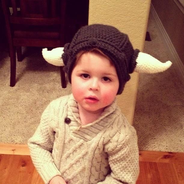 Crochet - Baby Viking hat | Children and My Desire to Have Them ...